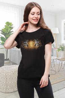 Черная футболка с тигром Brosko со скидкой
