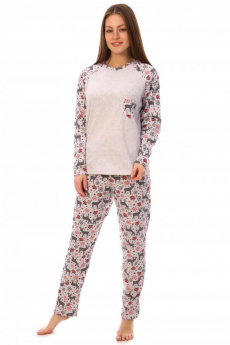 Пижама с длинным рукавом Кетлен